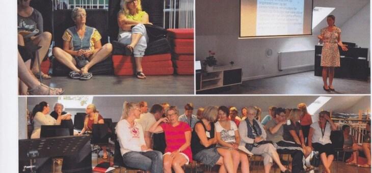 Foredrag på Depressionsforeningens Sommerhøjskole